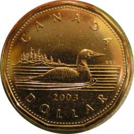 Канадский доллар, Луни