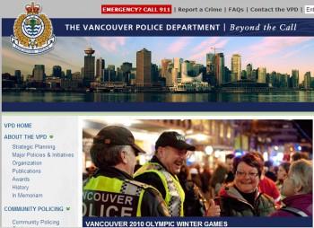 Полиция города Ванкувер
