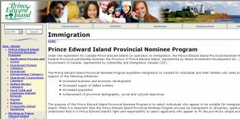 Prince Edward Island Provincial Nominee Program. Иммиграция в Канаду на Остров Принца Эдуарда