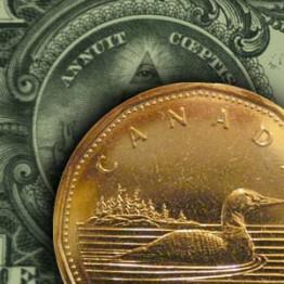 курс канадского доллара по отношению к американскому доллару