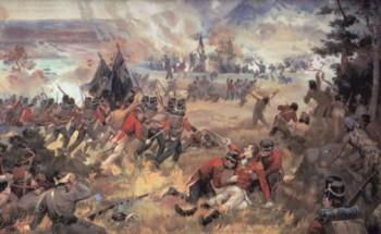 Англо-американская война, Битва на Квинстонских высотах, Джон Дэйвит Келли