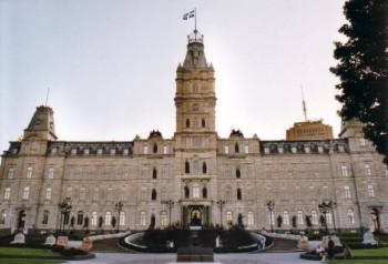 Здание квебекского парламента