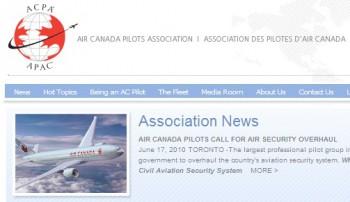 Ассоциация пилотов авиакомпании Air Canada