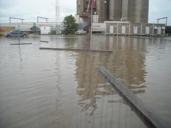 наводнение, Мэйпл Крик, Саскачеване