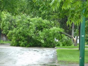 Виннипег, ураган