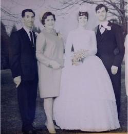80 лет в браке Джесси и Витал Эмард, Онтарио, Канада