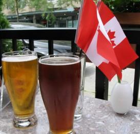 Канадское пиво в канадскую жару