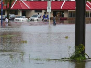 наводнение, Йорктон, Саскачеване