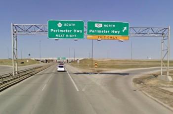 Трансканадская магистраль Виннипег