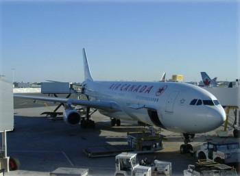 самолёт Air Canada аэропорт Торонто