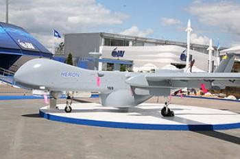 Израильский беспилотный самолёт разведчика Heron