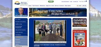 Британская Колумбия правительство