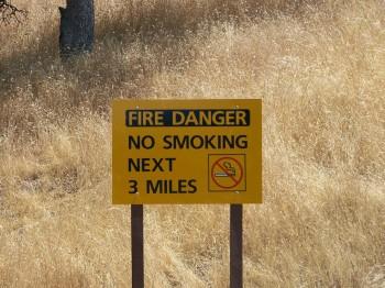 запрет на курение в парке Ванкувера