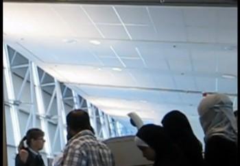 международный аэропорт имени Трюдо, Air Canada, не соблюдение мер безопастности, никаб
