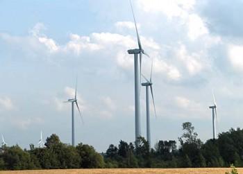 Канада, алтернативный источник энергии ветровая электростанция