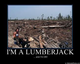 Британская Колумбия, работа на лесозаготовках, лесоруб, иммиграция в Канаду
