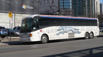 междугородний автобус, автобус, Грейхаунд, Greyhound, Канада