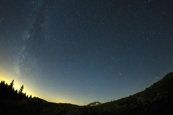 Персеиды, метеорный поток, звёздный дождь,