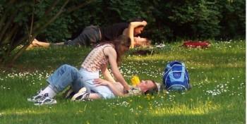 секс в парке Оттава
