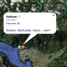 Географическое расположение Ванкувера нем места под строительство
