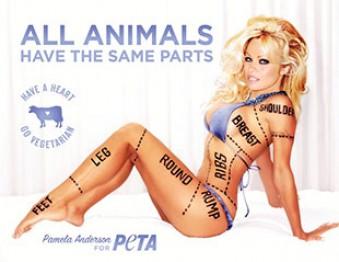 Памела Андерсон PETA