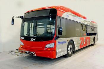 Новый скоростной автобус для линии Zum Бремптон