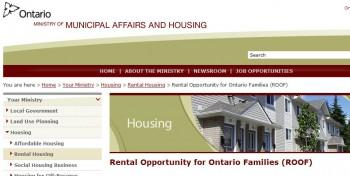 программа финансовой помощи малоимущим для оплаты жилья Онтарио Канада