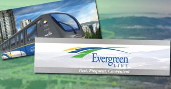 Лёгкое метро проекта Evergreen Line Ванкувер