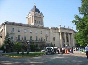 Здание парламента Манитобы в Виннипеге