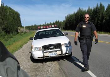 канадский полицейский