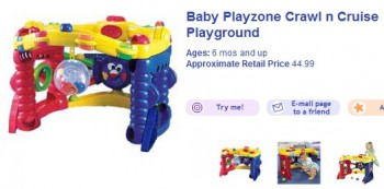 отзыв игрушек компанией Fisher-Price