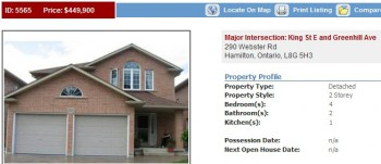 дом на продажу, новый дом, купить дом, Гамильтон, Онтарио