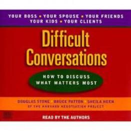 Дугласа Стоун Трудные разговоры