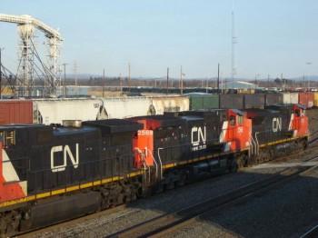 Канада железная дорога CN