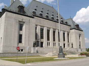 Здание верховного суда в Оттаве