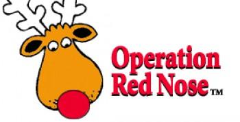 Операция Красный Нос отвезут пьяного домой бесплатно на их машине