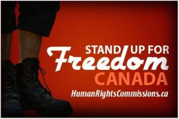Stand Up For Freedom Canada свободы выражения вероисповедания мысли религии