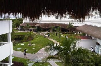 Взрыв в гостинице Плайа-дель-Кармен, Карибское побережье Мексики