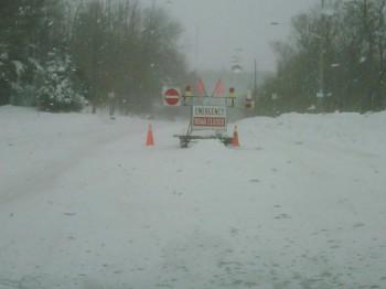 дороги снег машины Онтарио Канада