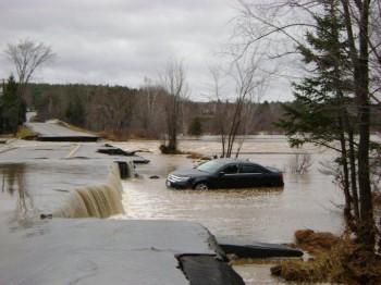 наводнение Нью-Брансуик Канада