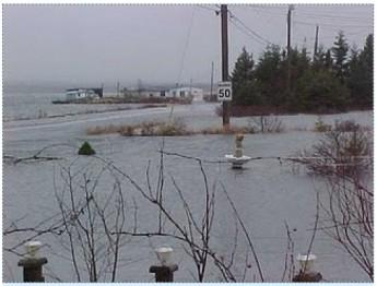 Coleharbour Dyke, Новая Шотландия дожди ветер наводнения