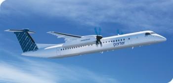 авиакомпания Porter Airlines полёт Торонто Нью-Йорк