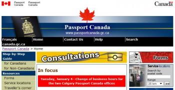 паспортный стол Канада оформление паспорта канадский паспорт