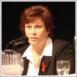 Министр здравоохранения провинции Манитоба Тереза Освальд. Грипп H1N1. Канада