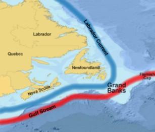 Айсбрег Канада Грэнд Бэнкс Большая Ньюфаундлендская банка Grands Bancs Ньюфаундленд и Лабрадор
