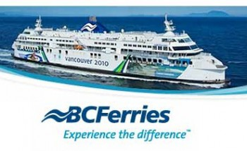 Паром компании B.C. Ferries Британская Колумбия Канада