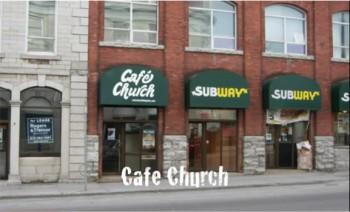 Café Church Кингстон Онтарио Канада церковь в баре