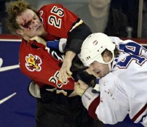 запрет драки хоккей NHL