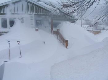 Виктория Британская Колумбия Канада снег