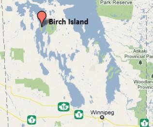 Провинциальный парк остров Берч озере Виннипегосис Манитоба Канада